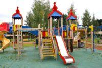cпортивная площадка своими руками для детских игр