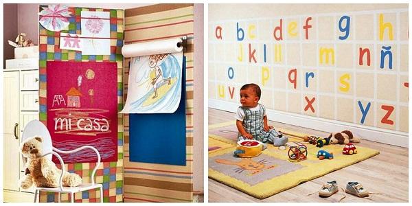 украшение детского пространства