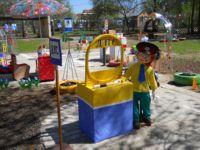 площадка для игр в детском саду