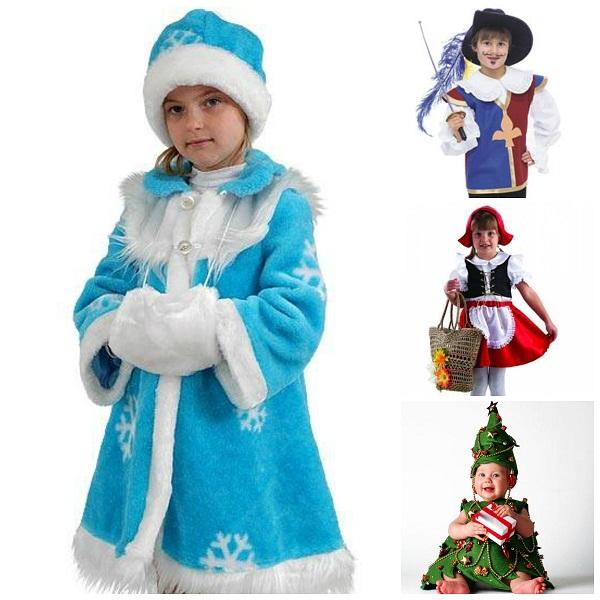 Наши варианты новогодних костюмов